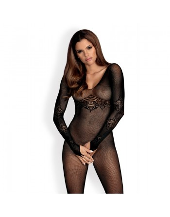 N120 Bodystocking - Black