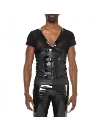 Jordan wetlook vinyle t -shirt