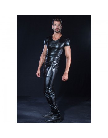 Shawn Sexy wetlook trousers
